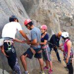 nudo-alondra-escalada-en-roca-vertical-deportivo