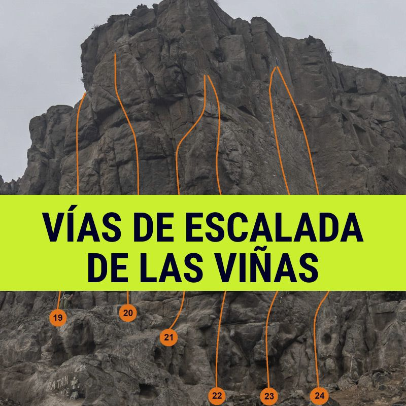 vias escalada las viñas vertical entrenamiento topos peru lima