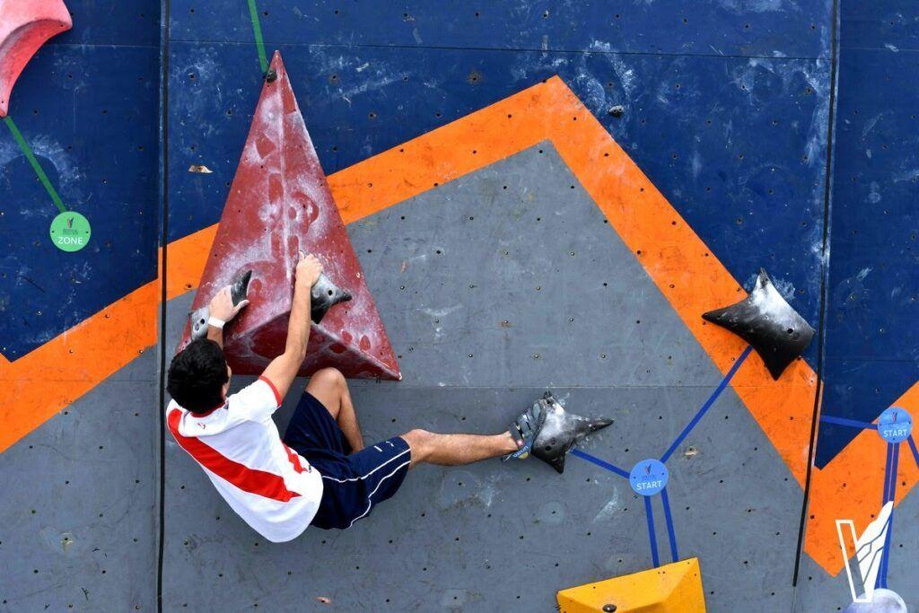 vertical entrenamiento escalada academia