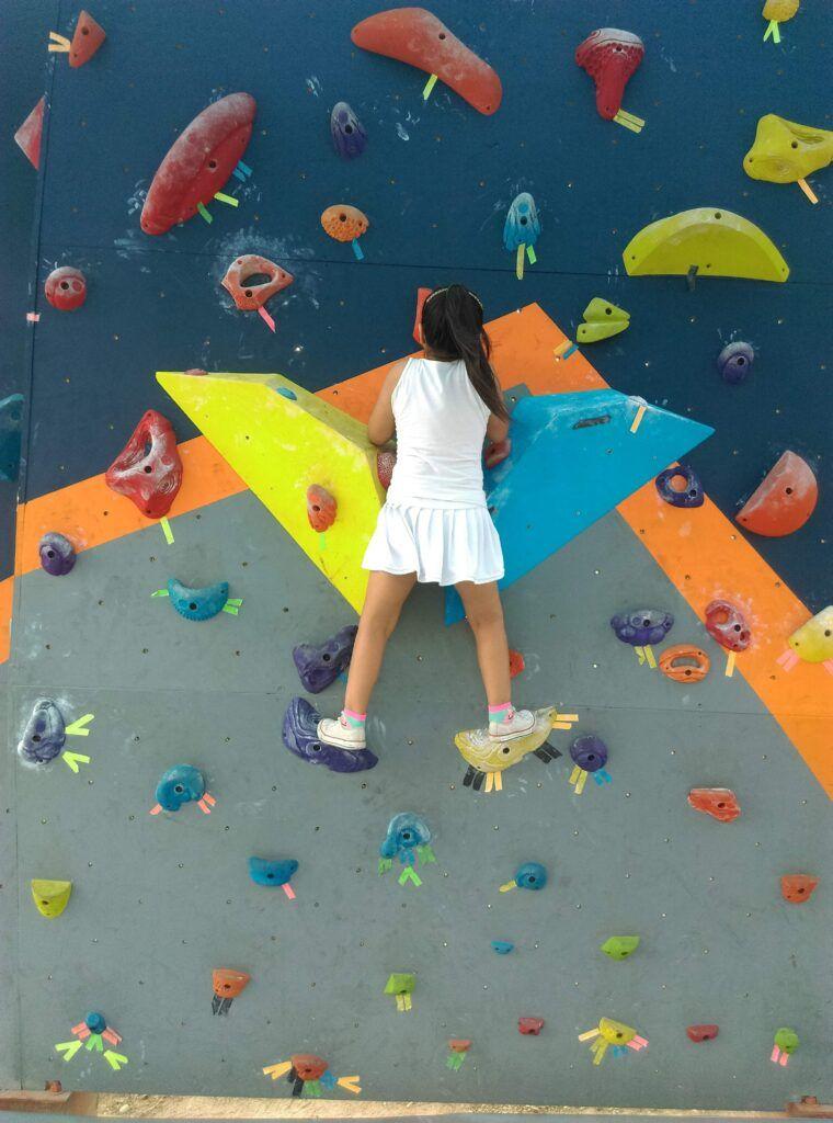 academia escalada motricidad lima niños y niñas